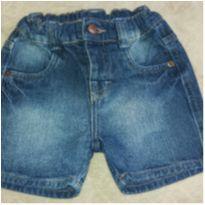 Short Jeans Teddy boom - 12 a 18 meses - Teddy Boom