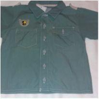 Camisa verde - 1 ano - Tigor T.  Tigre