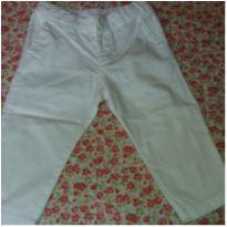 Calça branca - 3 a 6 meses - Paola BimBi