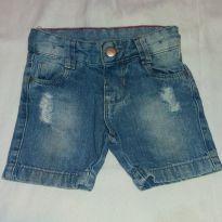 Short Jeans rasgado - 3 a 6 meses - yoyo Baby