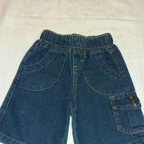 Short Jeans com bolso - 1 ano - Não informada