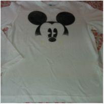 Camiseta Mickey - 7 anos - Benetton
