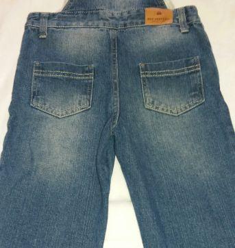 Jardineira Jeans - 2 anos - PUC
