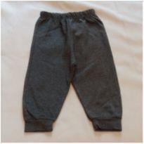 Calça cinza escuro - 0 a 3 meses - Não informada