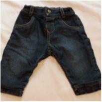 Calça Jeans laços - 3 a 6 meses - Não informada