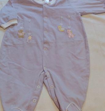 Macacão Lilás novo - 3 a 6 meses - Baby fashion
