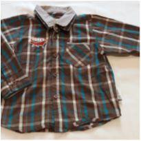 Camisa xadrez marrom - 2 anos - Tip Top