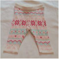 Calça tricot rosa - 0 a 3 meses - Teddy Boom