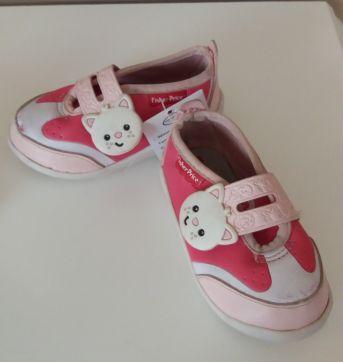 Tênis rosa gato - 20 - Fisher Price