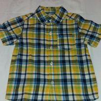 Camisa xadrez Carters - 18 meses - Carter`s