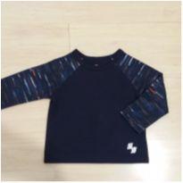 Camiseta longa azul - 12 a 18 meses - Place