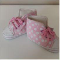 Tênis botinha rosa bolinhas - 15 - Tex