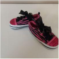 Tênis rosa e preto tigre - 18 - Vitamins Baby