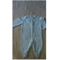 Macacão tricot Trousseau Petit - 0 a 3 meses - Trousseau