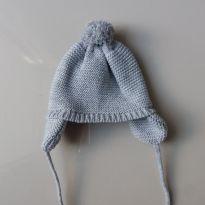Touca lã cinza -  - Teddy Boom