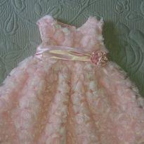 Vestido rosa - 18 meses - La Princess