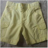 Bermuda sarja amarelo Poim - 24 a 36 meses - Poim