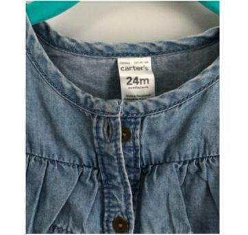 blusinha jeans molinho - 2 anos - Carter`s