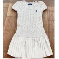 Vestido de tricô Polo - 4 anos - Polo