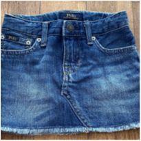 Saia Jeans Polo Ralph Lauren Original - 4 anos - Polo