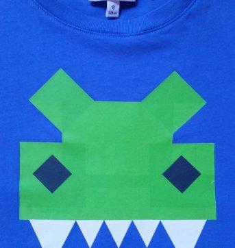 Camiseta Lacoste Original Azul Royal Edicao Especial 6 Anos No