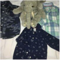 Camisa social - 18 a 24 meses - Carter`s e Zara Baby
