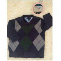 Suéter de linha Tommy Hilfiger - 6 a 9 meses - Tommy Hilfiger