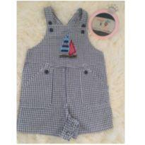Jardineira importada - 1 ano - Mini wear