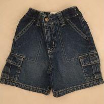 Bermuda jeans importada - 12 a 18 meses - Gymboree