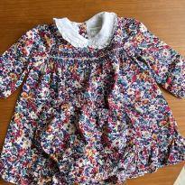 Vestido festa Ralph Lauren Florido - 6 a 9 meses - Ralph Lauren