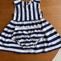 Vestido malha Paola da Vinci - 6 a 9 meses - Paola Da Vinci