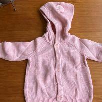 Tricot com capuz - 3 meses - Klin, Ipanema, Gimboree