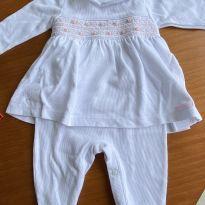 Macacão algodão grosso Paola da Vince - 6 a 9 meses - Paola Da Vinci