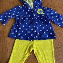 Conjunto casaco + calça - 3 meses - Carter`s