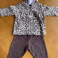 Conjunto Carter's Casaco + Calça - 3 meses - Carter`s