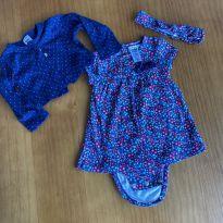 Conjunto Vestido Carter's - 3 a 6 meses - Carter`s