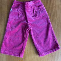 Calça rosa Ralph Lauren Veludo - 9 meses - Ralph Lauren