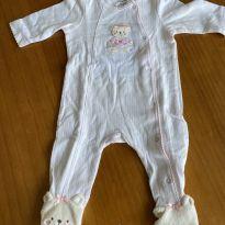 Macacão algodão Ursinho - 3 meses - Little Me