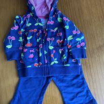 Conjunto casaco e calça Carter's - 3 meses - Carter`s