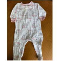 Macacão algodão Gerber - 3 meses - Gerber