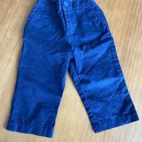 Calça sarja azul Ralph Lauren - 9 meses - Ralph Lauren