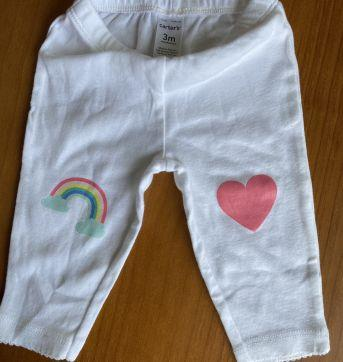 Conjunto camiseta e calça Carter's - 3 meses - Carter`s