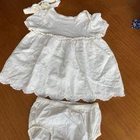 Vestido Gap Baby - 3 a 6 meses - Baby Gap