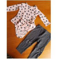 Conjunto vestido + Calça Carter's - 1 ano - Carter`s