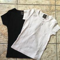 Duas camisetas caneladas - 6 anos - Hering Kids