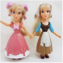 bonecas cinderela princesas disney coleção coleção mcdonalds -  - Disney