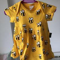 Vestido abelha BB básico - 3 meses - BB Básico