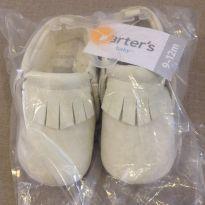 Sapato Mocassim Branco Carter`s - 19 - Carter`s