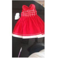 Vestido natal - 2 anos - Não informada e Fabricação própria