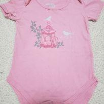Body Gaiola Rose - 6 a 9 meses - Tip Top
